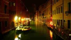 Venice by Night, photography by jane gifford