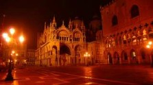 Italy, Venice, Saint Mark's Square at night, Christmas Eve, italian gourmet travel, photographer  jane gifford, your exclusive photographic travel guide to italy