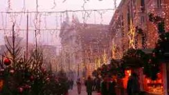 Christmas Market, Campo S. Stefano, Venice, photography by jane gifford