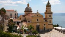 Praiano and San Gennaro Church, photography by jane gifford, italian gourmet travel