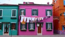 Italy, Burano, brightly painted fishermen's cottages, Venice Lagoon, italian gourmet travel, photographer  jane gifford, your exclusive photographic travel guide to italy